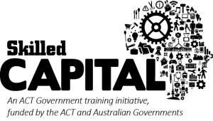 Skilled Capital logo stacked mono